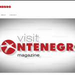 Visit Montenegro MAGAZINE - Web Presentation